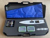 DF65 - Plastic carry case - Foam cut out